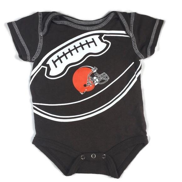 timeless design 6a20b 28f79 Cleveland Browns baby onesie 0-3 months